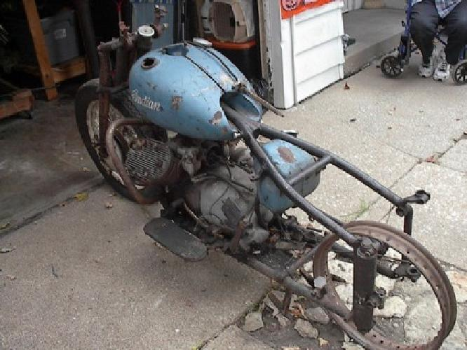 1942 Indian 841 Project - Very rare