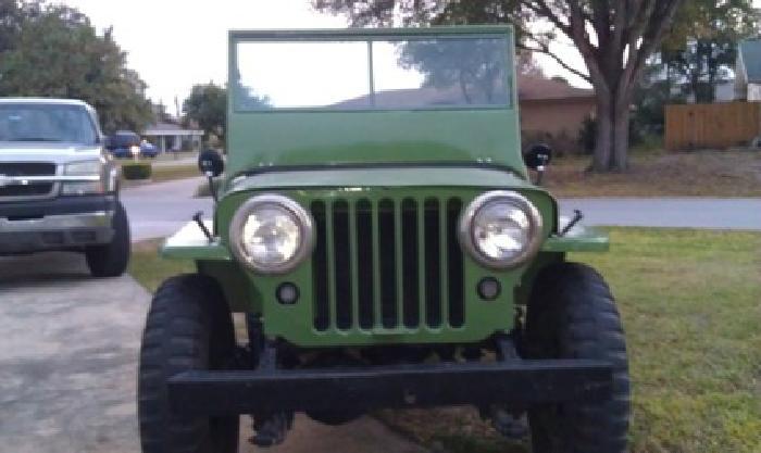 1945 CJ2A willys jeep