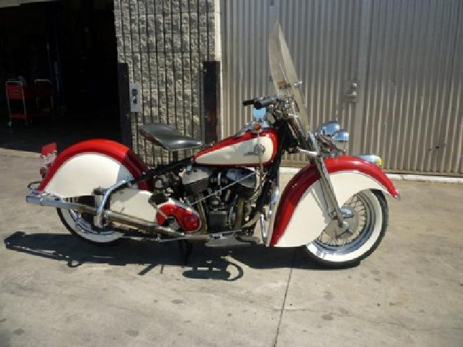 1946 INDIAN CHIEF MOTORCYCLE 74 CU. IN. Worldwide Delivery