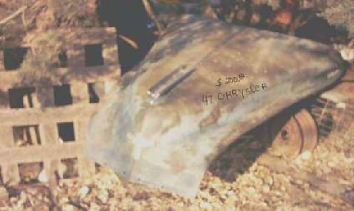 1947 Chrysler HOOD