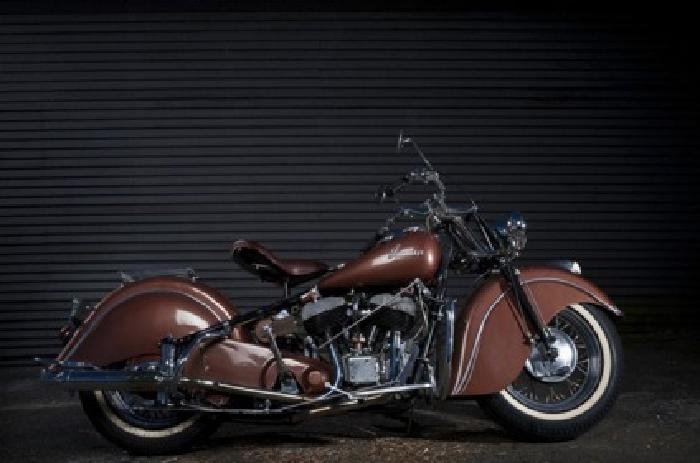 1948 Indian Chief Motorcycle with shipping