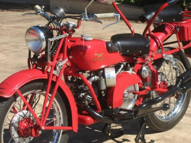 ..1948 Moto Guzzi Super Alce 500cc - Military