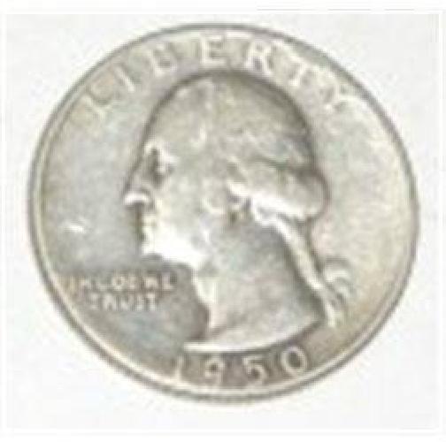1950-S Washington Silver Quarter *Nice Early Silver Quarter!!