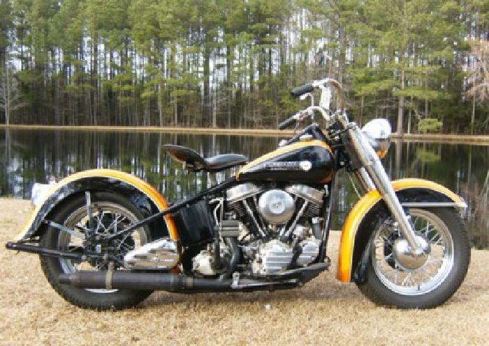 1950. Harley-Davidson Panhead