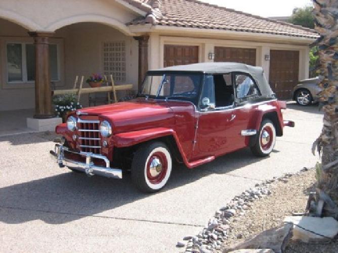 1950 Willys Jeepster STK Custom ?