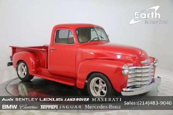 1951 Chevrolet 3100 Custom LS2 Pro Touring