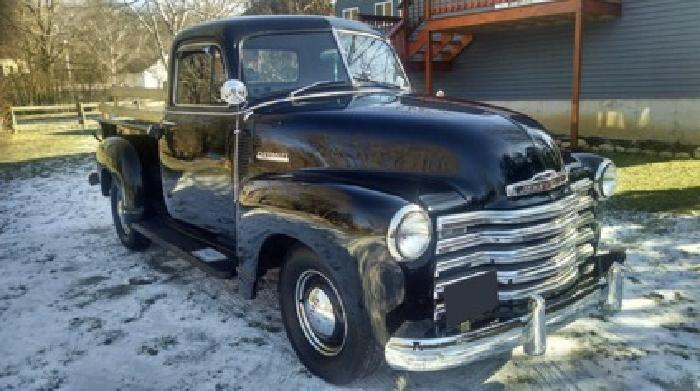 1952 Chevrolet 3100 Pickup - Free Shipping -