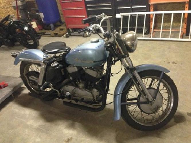 1952 Harley-Davidson K MODEL **FIRST YEAR**