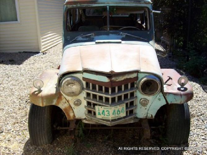 1953 Willys Jeep Wagon