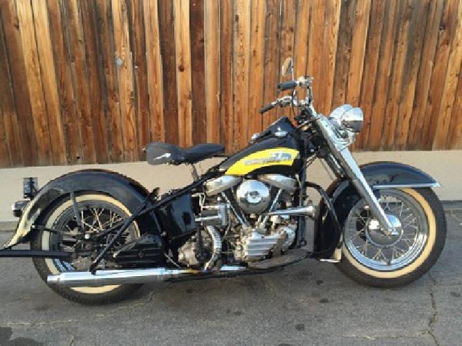 1956 Harley Davidson FL Panhead