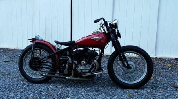 1959 HD WL Flathead Classic custom
