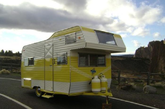 1962 Vintage Terry Travel Trailer For Sale In Redmond Oregon