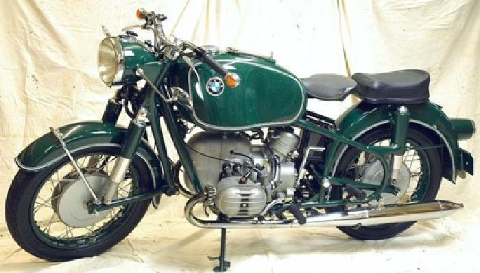 1965 BMW 50/2 German Polizei Motorcycle