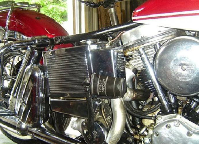 1965 -HARLEY Panhead FLH Vintage CLASSIC