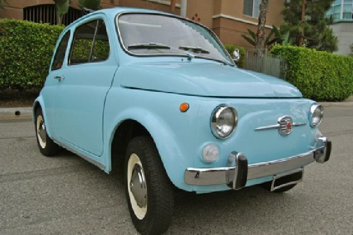 1970 Fiat 500, fresh full restoration