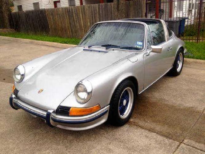 1972 porsche 911 e targa 5 speed engine rebuild to 73 for Motor rebuilders dallas tx