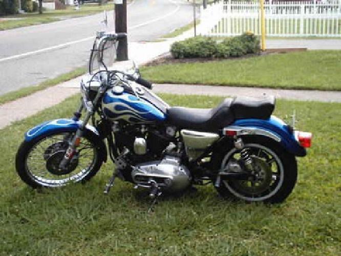 1980 Harley Davidson Sportster - Custom Paint Job- Great Bike