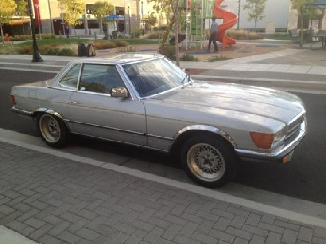 1980 Mercedes Benz 450 SL one of a Kind 4 speed Manual Transmission
