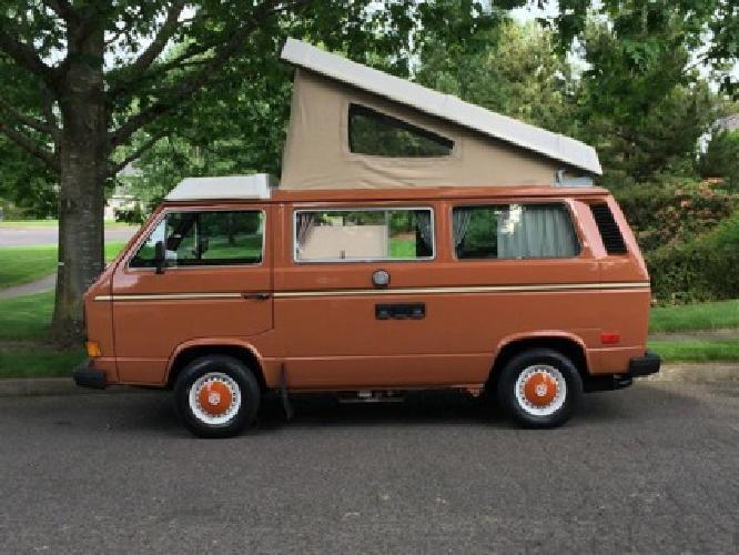 1982 Volkswagen Bus/Vanagon Westfalia Camper ?