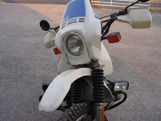 1985 BMW R80GS - 800cc - Paris Dakar