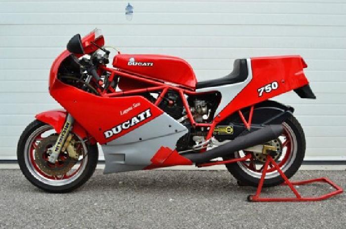 1987 Ducati 750 F1 Laguna Seca RARE