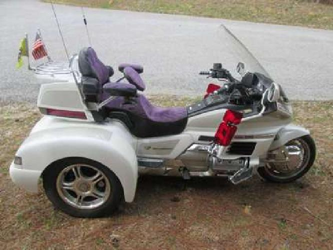 1988 Honda Goldwing Gl 1500 W/ Champion Trike Kit Conversion