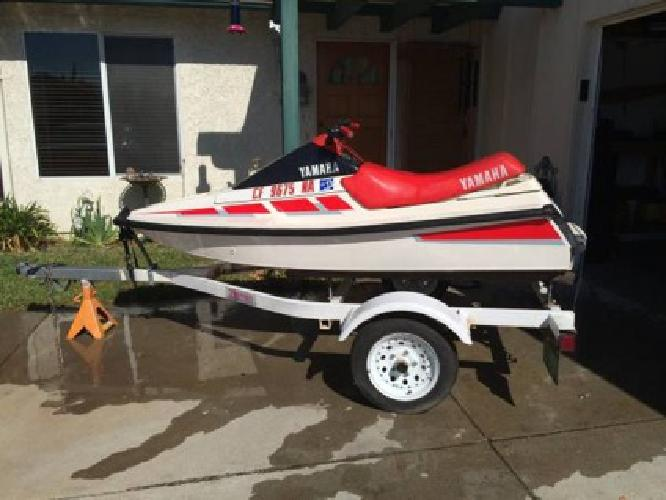 1989 wr 500 waverunner with zieman trailer for sale in