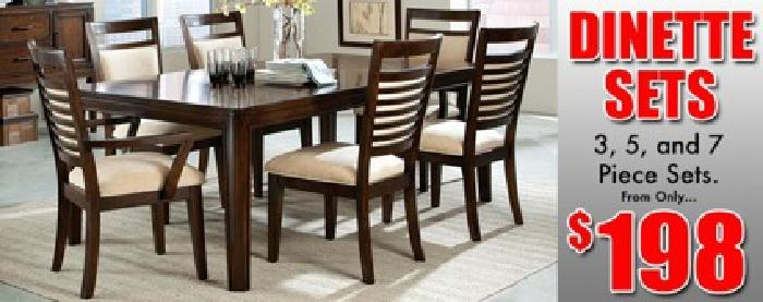 $198 Brand new 5 piece dining room set for only $198 Same