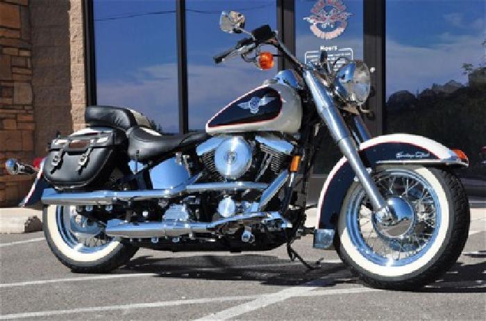 1993 Harley-Davidson Touring Flstn Heritage Nostalgia
