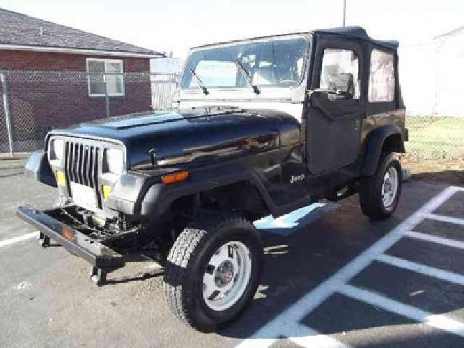 1993 jeep wrangler s 4x4 for sale for sale in spokane. Black Bedroom Furniture Sets. Home Design Ideas