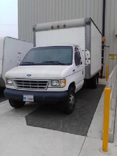 1994 Ford E350 15' Box Truck