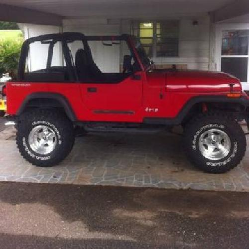 1995 jeep wrangler for sale in mooresville north carolina classified. Black Bedroom Furniture Sets. Home Design Ideas