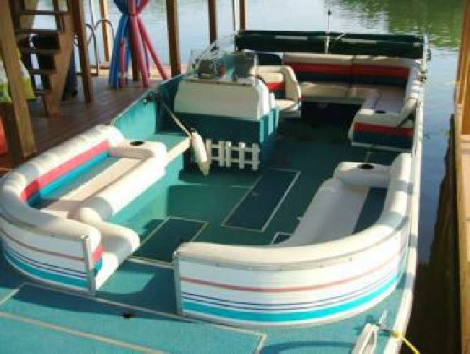 1995 Lowe 22 Aluminum Deck Boat For Sale In Lewistown