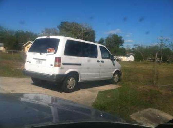 1996 Ford Aerostar Economic 3 ltr V6 Dual Air 165k calltxt32I837.9974