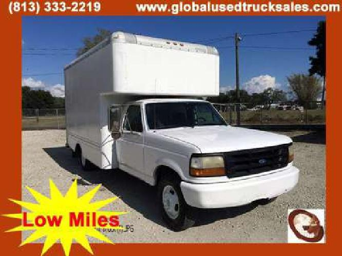1996 Ford F350XL 14ft Box Truck Tampa FL