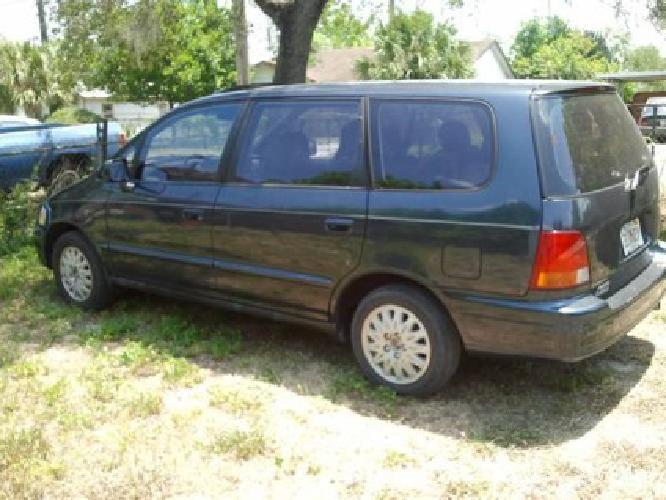 1997 Honda Odessey - 4 door- midnight blue- 83K Mi. -