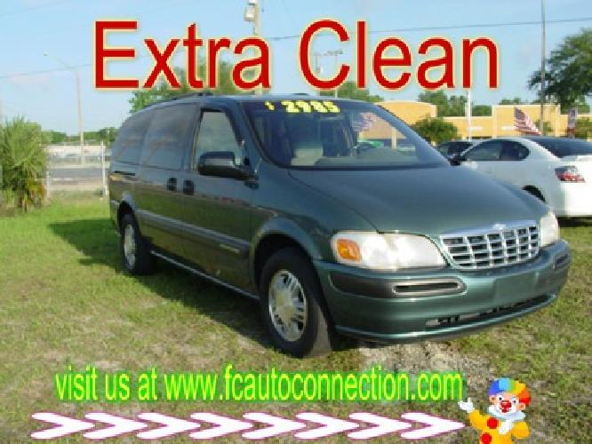 1998 Chevrolet Venture 3-door Extended First Coast Price