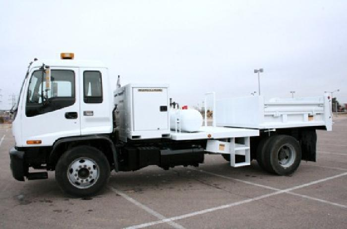 1999 Isuzu Fvr Dump Truck With Air Compressor For Sale In