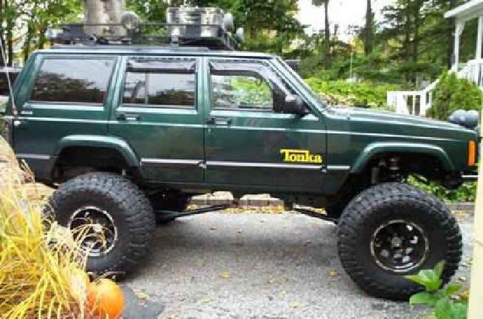 1999 Jeep Cherokee Xj #### Custom Built 36