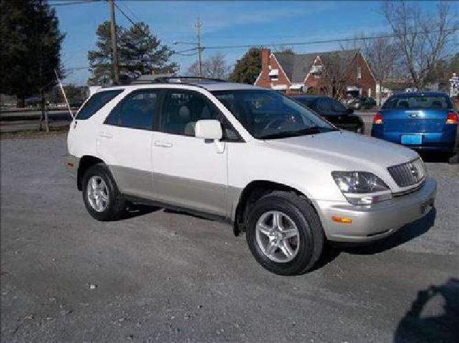 1999 lexus rx 300 awd for sale in raleigh north carolina classified. Black Bedroom Furniture Sets. Home Design Ideas