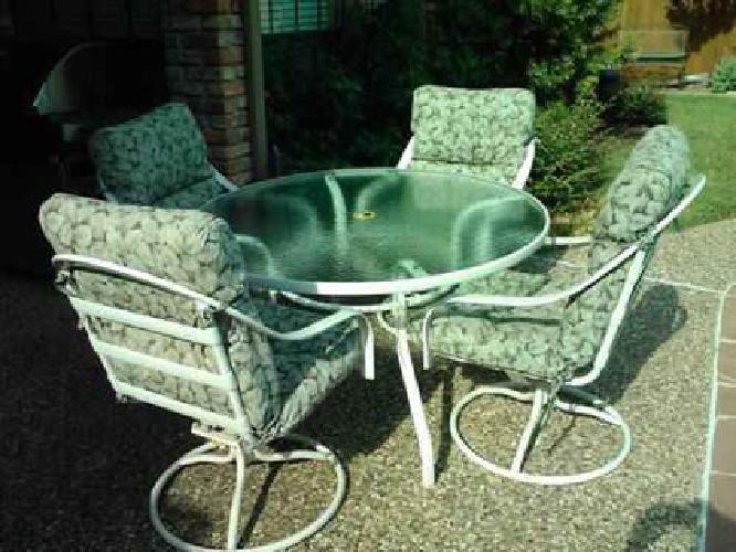 pc patio dining set w custom cushions dallas tx for sale in dallas