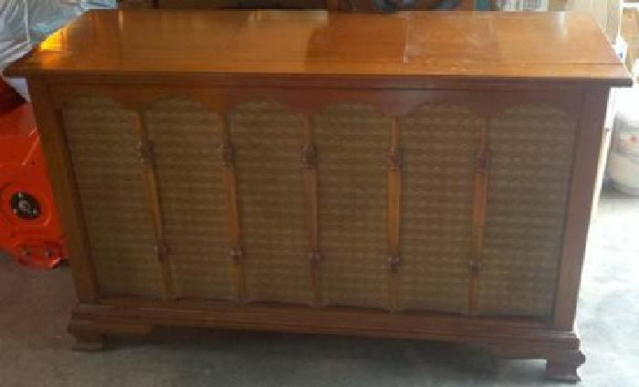 $199 Vintage 1961 Drexel Motorola Turntable Wood Console Cabinet ...