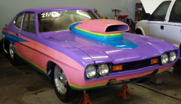 19 500 1974 mercury capri drag car for sale in decatur. Black Bedroom Furniture Sets. Home Design Ideas