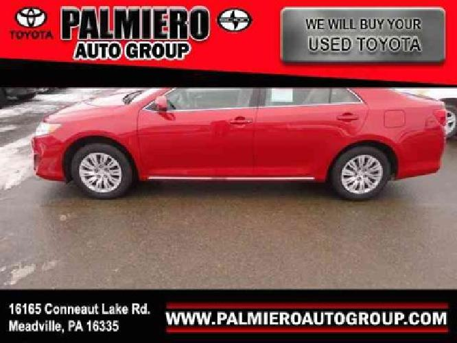$19,595 2012 Toyota Camry LE