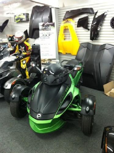 $19,600 2012 Can Spyder