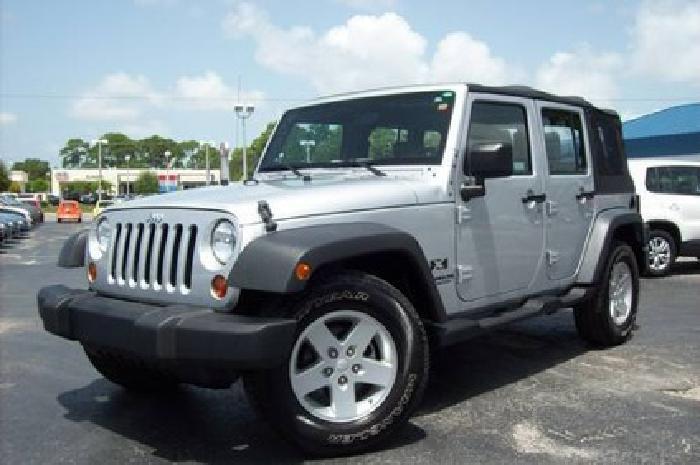 19 889 2008 jeep wrangler x 4 door manual 38k mi for sale in bradenton florida. Black Bedroom Furniture Sets. Home Design Ideas