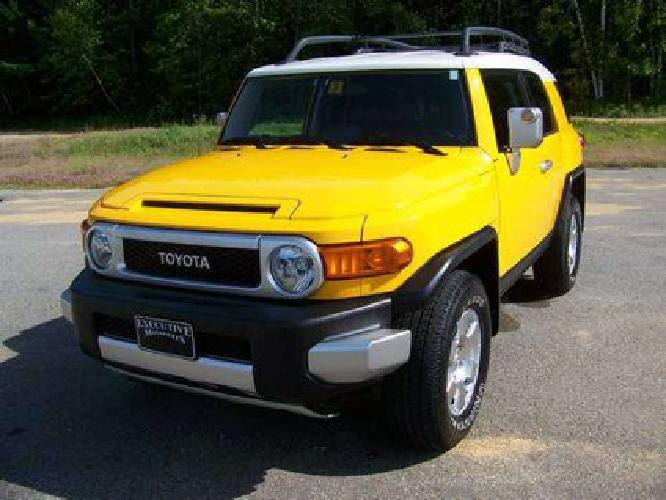 $19,900 2007 Toyota FJ Cruiser 4x4