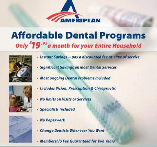 $19.95 Save up to 80% on Dental Costs