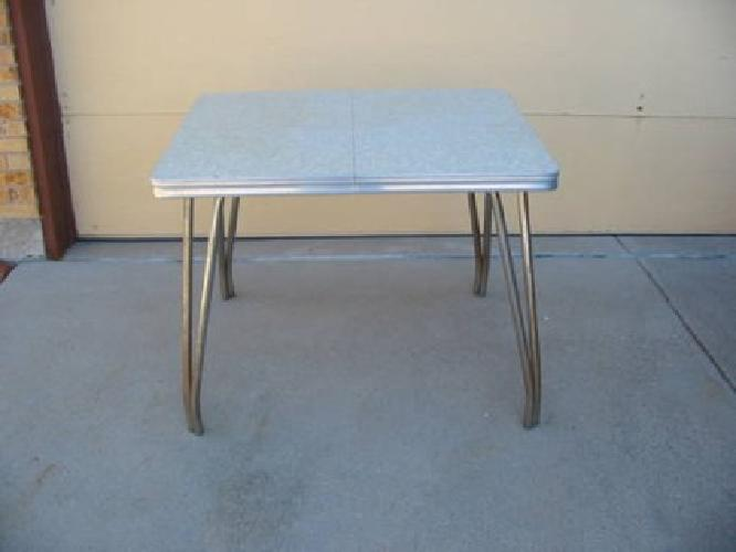 19 vintage chrome table kitchen for sale in colorado springs colorado classified - Vintage chrome kitchen table ...
