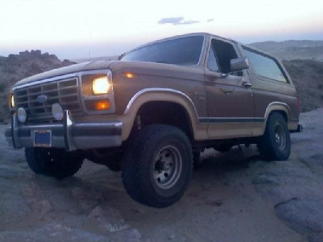 1 000 1986 ford bronco for sale in phoenix arizona classified. Black Bedroom Furniture Sets. Home Design Ideas
